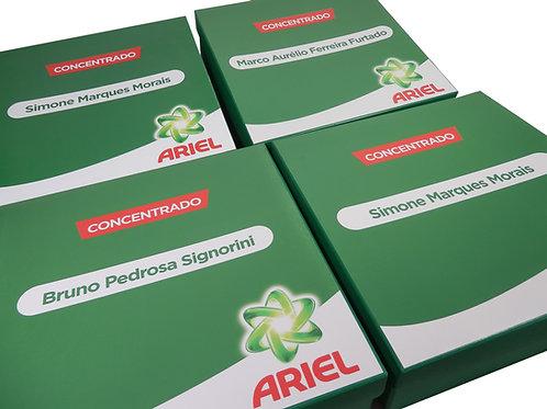 Caixa de Cartonagem com Dados Variáveis