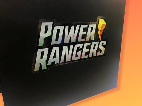 Caixa para Influenciadores Power Rangers