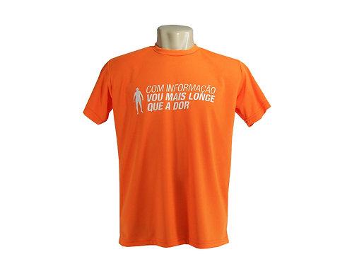 Camiseta em Dry Fit com Gola Personalizada