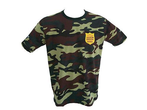 Camiseta Camuflada Personalizada