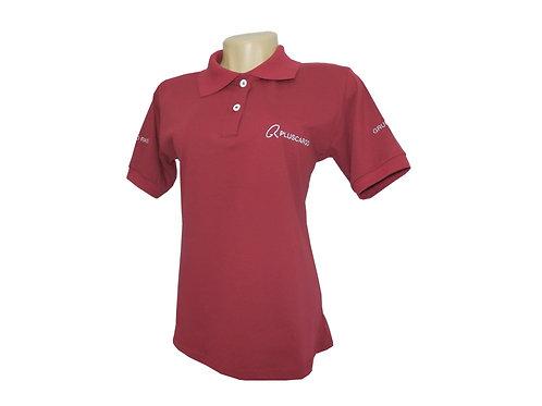 Camisa Polo Feminina em Algodão
