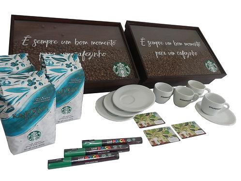 Press Kit para Lançamento de Café