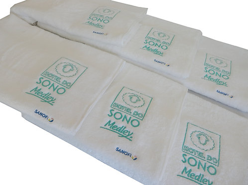 Toalha de Banho com Logo