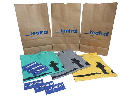 Kit Camisetas Espaço Teatral
