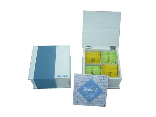 Caixa de Chá em Caixa com Divisórias