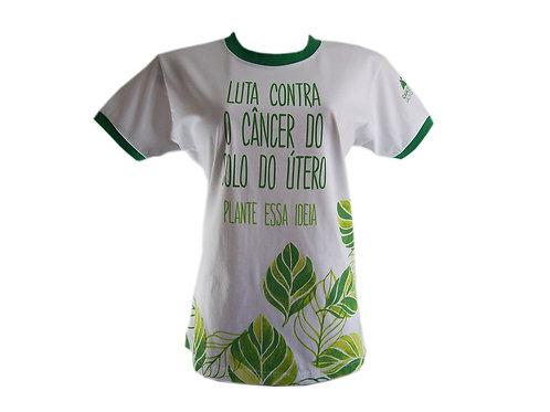 Camiseta Baby Look de Algodão