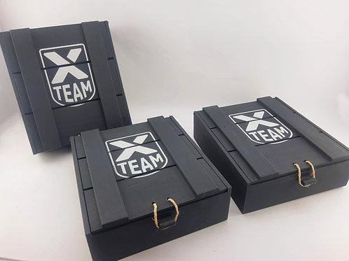 Caixa Personalizada em Madeira XTeam Dux