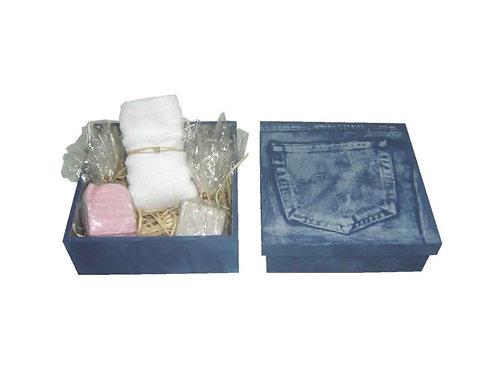Kit Caixa Jeans