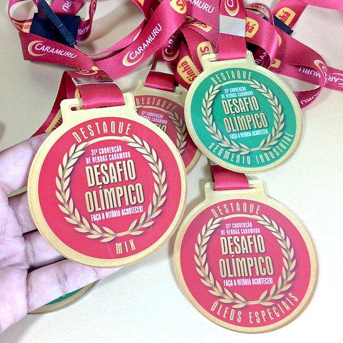 Medalha Personalizada Caramuru Sinhá
