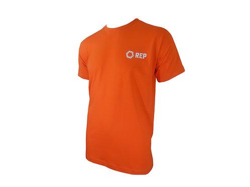 Camiseta em Algodão Laranja
