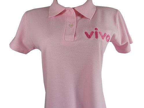 Camisa Polo para Outubro Rosa