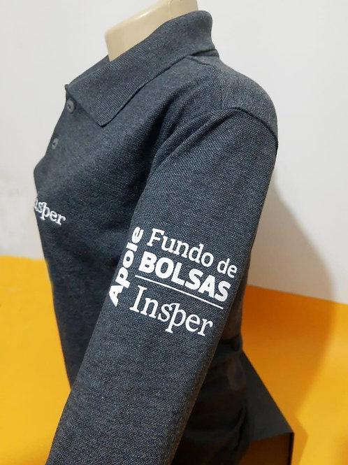 Camisa Polo Insper Manga Longa