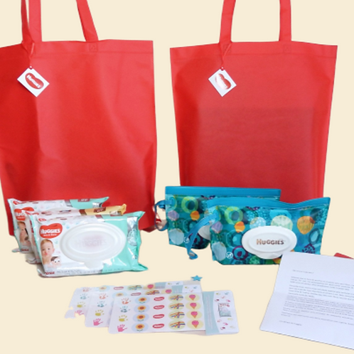 Kit Ecobag Huggies