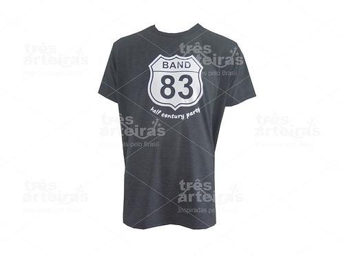 Camiseta Preta para Evento