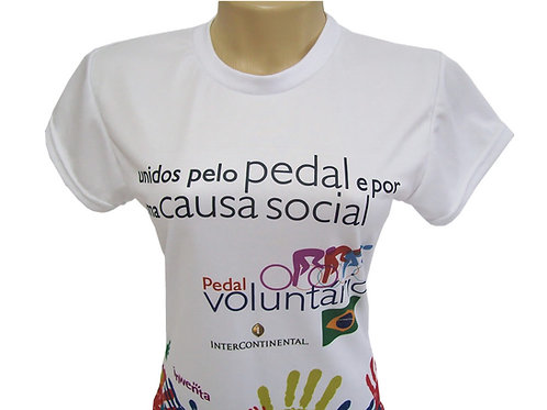Camiseta Feminina Personalizada com Sublimação