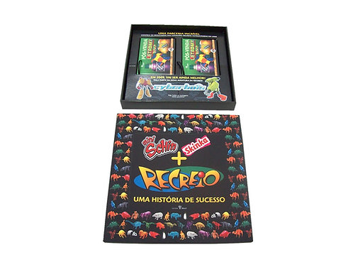 Press Kit Caixa com Tecido Revista Recreio
