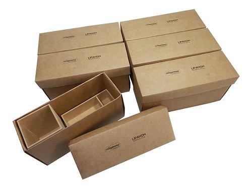 Caixa para Porta Lápis em Madeira Ecológica