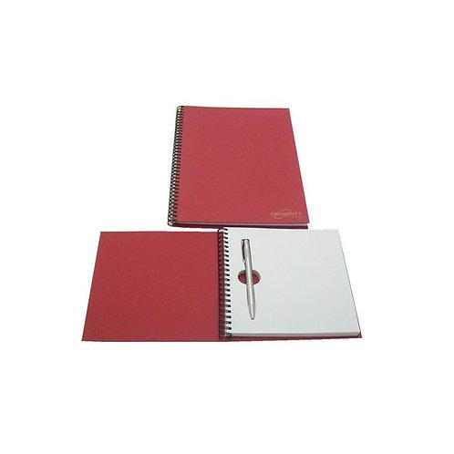 Caderno com Caneta Embutida
