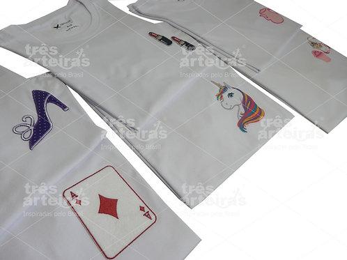 Camisetas com Patches Infantis