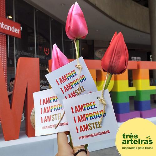 Tulipas para Parada LGBT+ Amstel