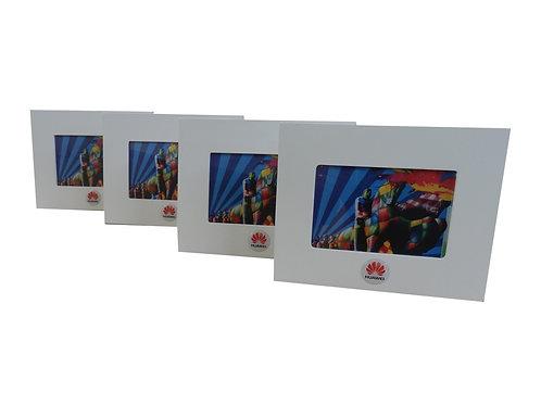 Porta Retrato de Madeira Huawei