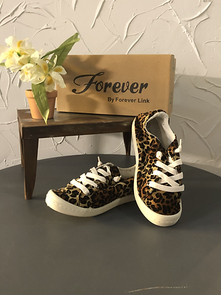 Cheetah Sneaker by Forever Link
