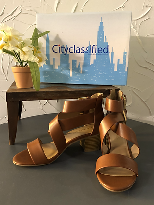 City Classified Brown Wedge