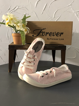 Pink Tennis Shoe by Forever Link