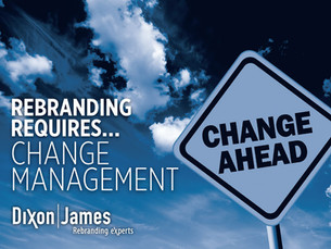 Rebranding Requires Change Management