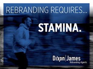Rebranding Requires Stamina