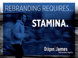 Rebranding Requires Stamina