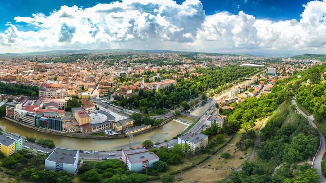 Panorama realizată cu drona