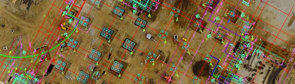 Drona în construcții