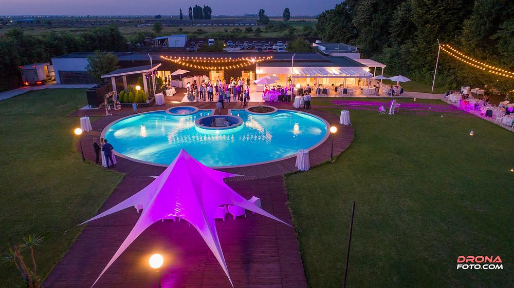 Închiriere dronă pentru evenimente cu drona