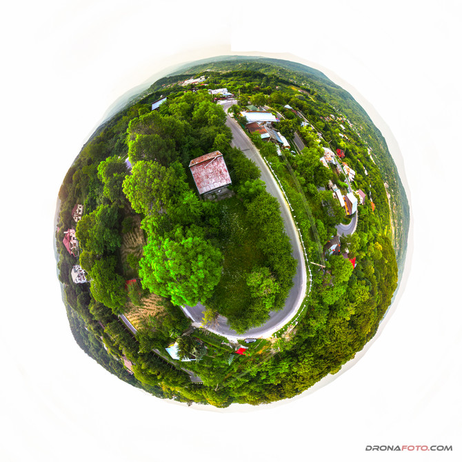 Panorama 360 din drona