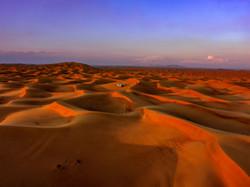 desert pustiu cu foto drona