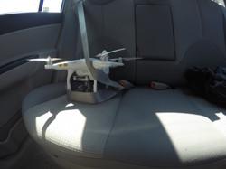 Drona a plecat la plimbare pentru o noua misiune