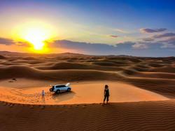 drona foto in desert