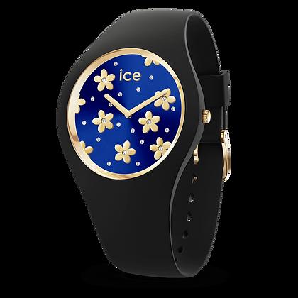 Montre ICE WATCH - ICE FLOWER Precious Deep Bleu - Medium - 017579