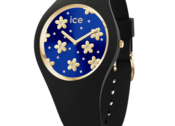 Montre ICE WATCH - ICE FLOWER Precious Bleu - Small - 017578