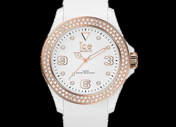 Montre ICE star - White rose-gold 017232