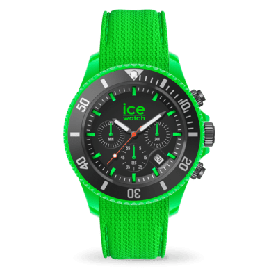 Montre ICE WATCH Chrono Neon green - Large - 019839