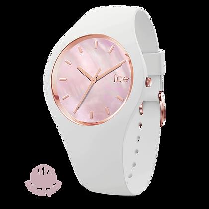 Montre ICE WATCH - ICE PEARL WHITE PINK  - MEDIUM - 017126