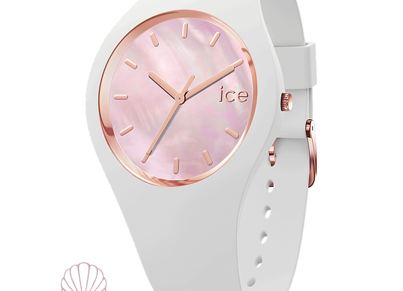 Montre ICE WATCH - ICE PEARL WHITE PINK  - MEDIUM - 017126