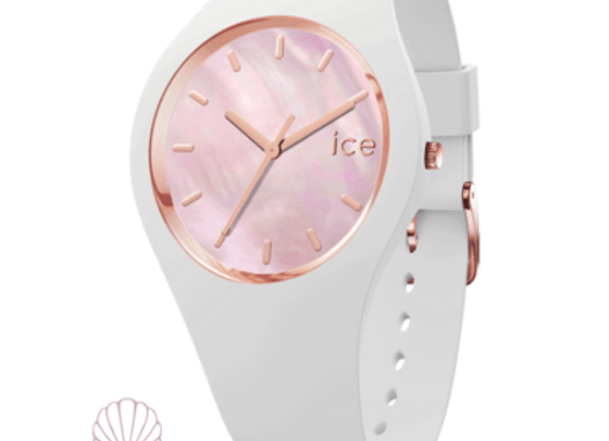 Montre ICE WATCH - ICE PEARL WHITE PINK  - SMALL - 016939