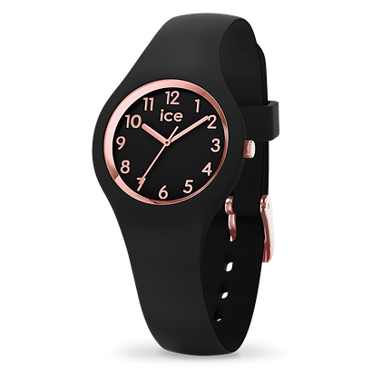 Montre ICE WATCH - ICE GLAM - BLACK ROSE-GOLD - NUMBERS - EXTRA SMALL - 015344