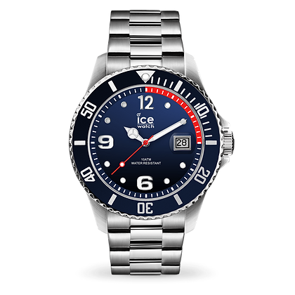 Montre ICE WATCH - ICE STEEL - MARINE SILVER - LARGE - 015775