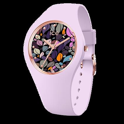 Montre ICE WATCH - ICE FLOWER Lilac Petals - Medium - 017 580