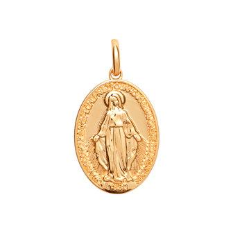 Pendentif plaqué or médaille miraculeuse - PEND2766800
