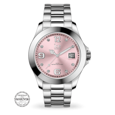 Montre ICE WATCH - ICE STEEL CLASSIC - LIGHT PINK  - MEDIUM - 016776